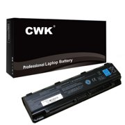 CWK Long Life Replacement Laptop Notebook Battery for Toshiba Satellite C850 C855 C55 C55D PA5109U-1BRS PA5024U-1BRS C850 C855 C855D C55 C55T PA5109U-1BRS PA5024U-1BRS C850 C855D