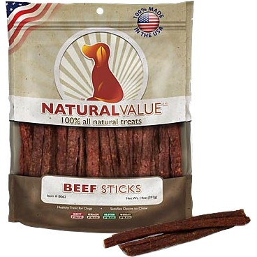 Loving Pets Natural Value Beef Meat Sticks