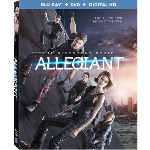 The Divergent Series: Allegiant (Blu-ray + DVD + Digital HD) (With INSTAWATCH)