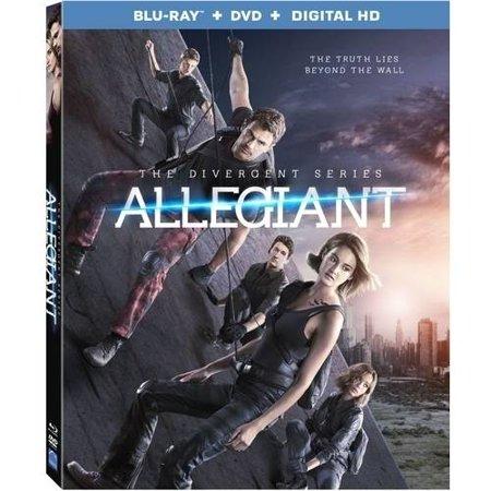 The Divergent Series  Allegiant  Blu Ray   Dvd   Digital Hd   With Instawatch
