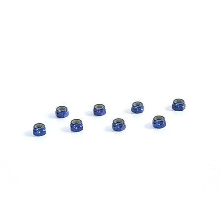 Tuning Haus TUH1068 4 mm Aluminum Locknut, Dark Blue - Set of 8 - image 1 de 1
