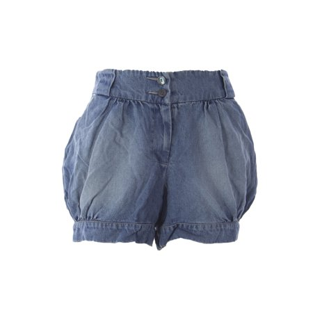 VELVET by Graham & Spencer Women's Hi-Rise Bubble Shorts Small