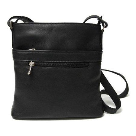 Royce Triple Zip Crossbody Handbag