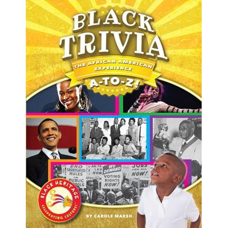 Black Trivia : The African-American Experience A-To-Z!](Halloween 2 Trivia)