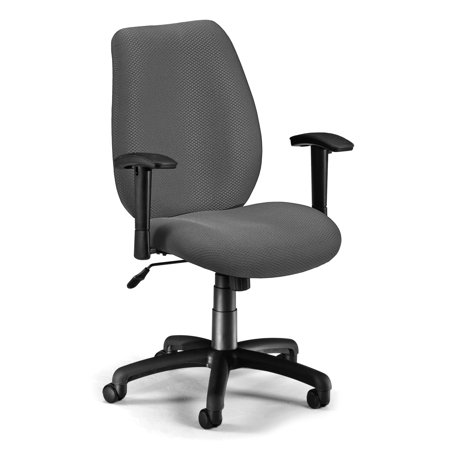 611-13 Office Furniture Classic Style Height-Adjustable Arms Wheeled Base Ergonomic Conference Graphite Man