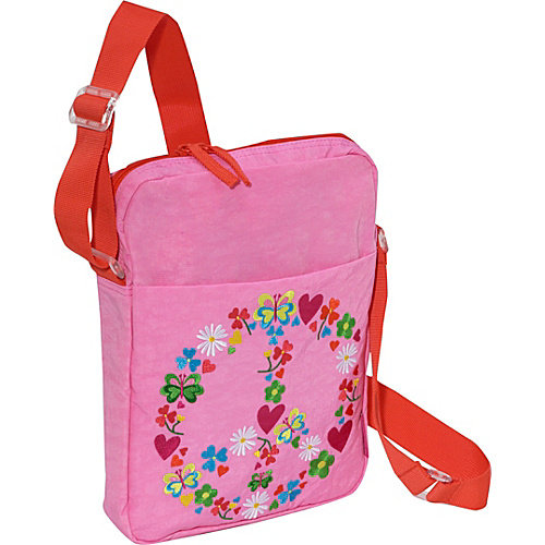 Miquelrius Agatha Ruiz de la Prada Peace & Love Pink Shoulder Bag
