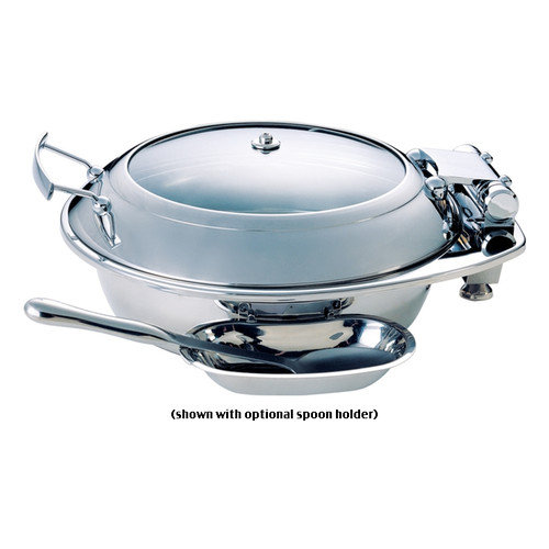 SMART Buffet Ware Large Round Chafing Dish with Glass Lid