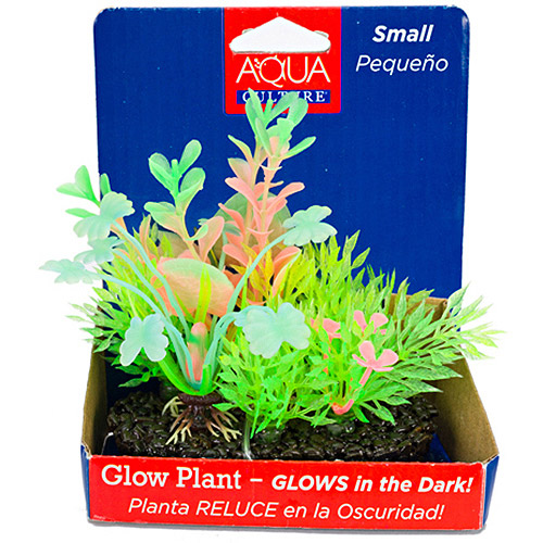 Aqua Culture Glow Pod Aquarium Decoration, Small