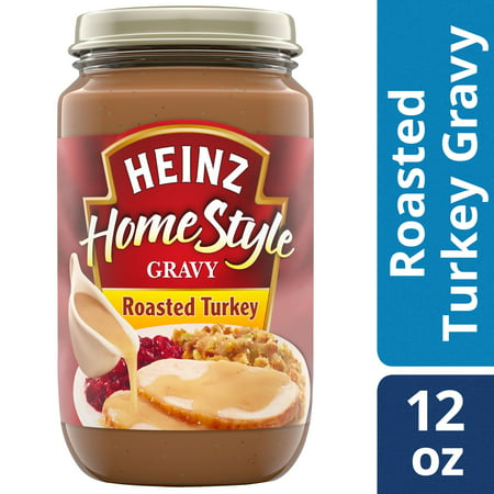 (2 Pack) Heinz Home-Style Roasted Turkey Gravy, 12 oz Jar