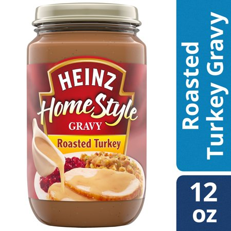 (2 Pack) Heinz Home-Style Roasted Turkey Gravy, 12 oz