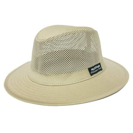 67583b7ce Panama Jack Men's Mesh Safari Hat Khaki, XL