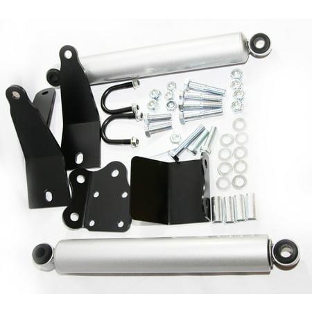 Dual Steering Stabilizer fits 2003-2012 Dodge Ram 2500/ Ram 3500