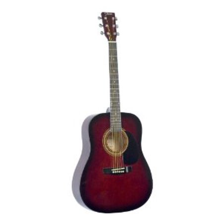 Johnson Acoustic Guitar Review : johnson jg 610 r 610 player series acoustic guitar red multi colored ~ Russianpoet.info Haus und Dekorationen