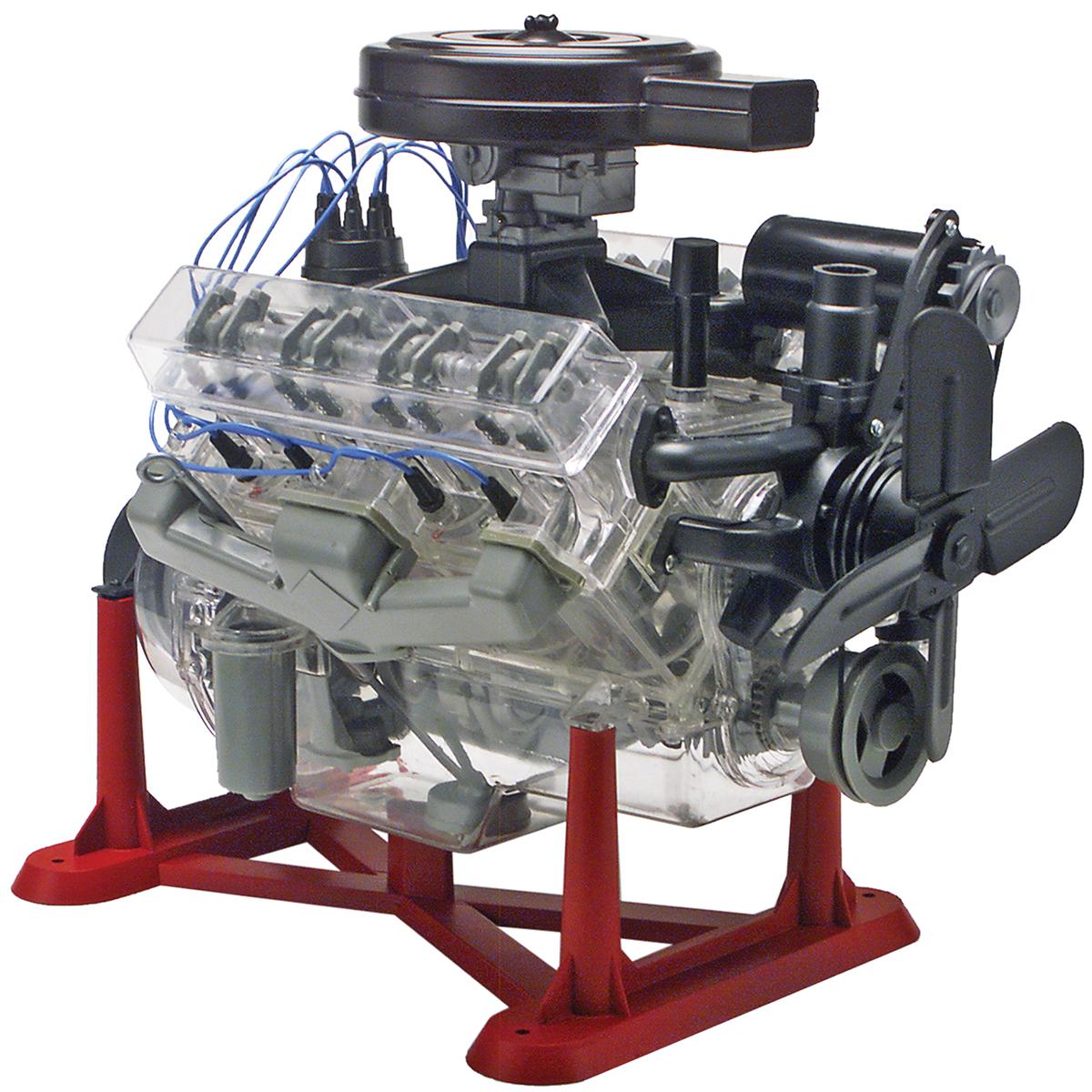 Plastic Model Kit-Visible V-8 Engine 1:25 by Revell