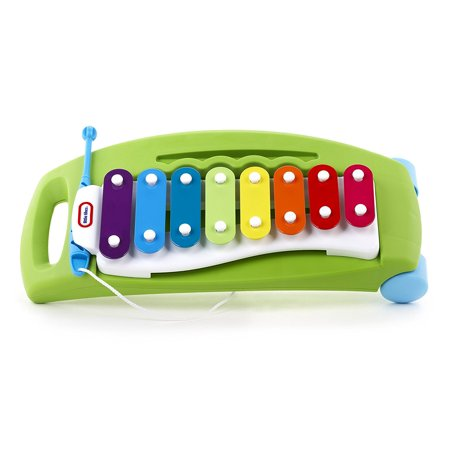 Tap-a-Tune Xylophone, Colored chimes produce a full octave of tones making any tune possible and letting your child experiment musically By Little Tikes Ship from