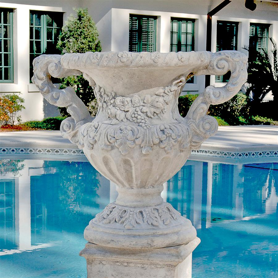 Design Toscano Elysee Palace Baroque-style Architectural Garden Urn Statue