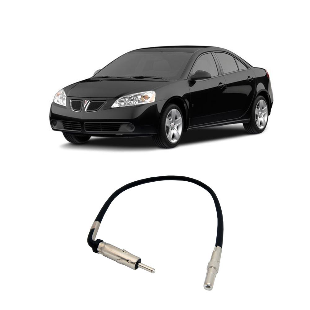 Pontiac G6 2009 Factory Stereo To Aftermarket Radio Antenna Adapter Plug