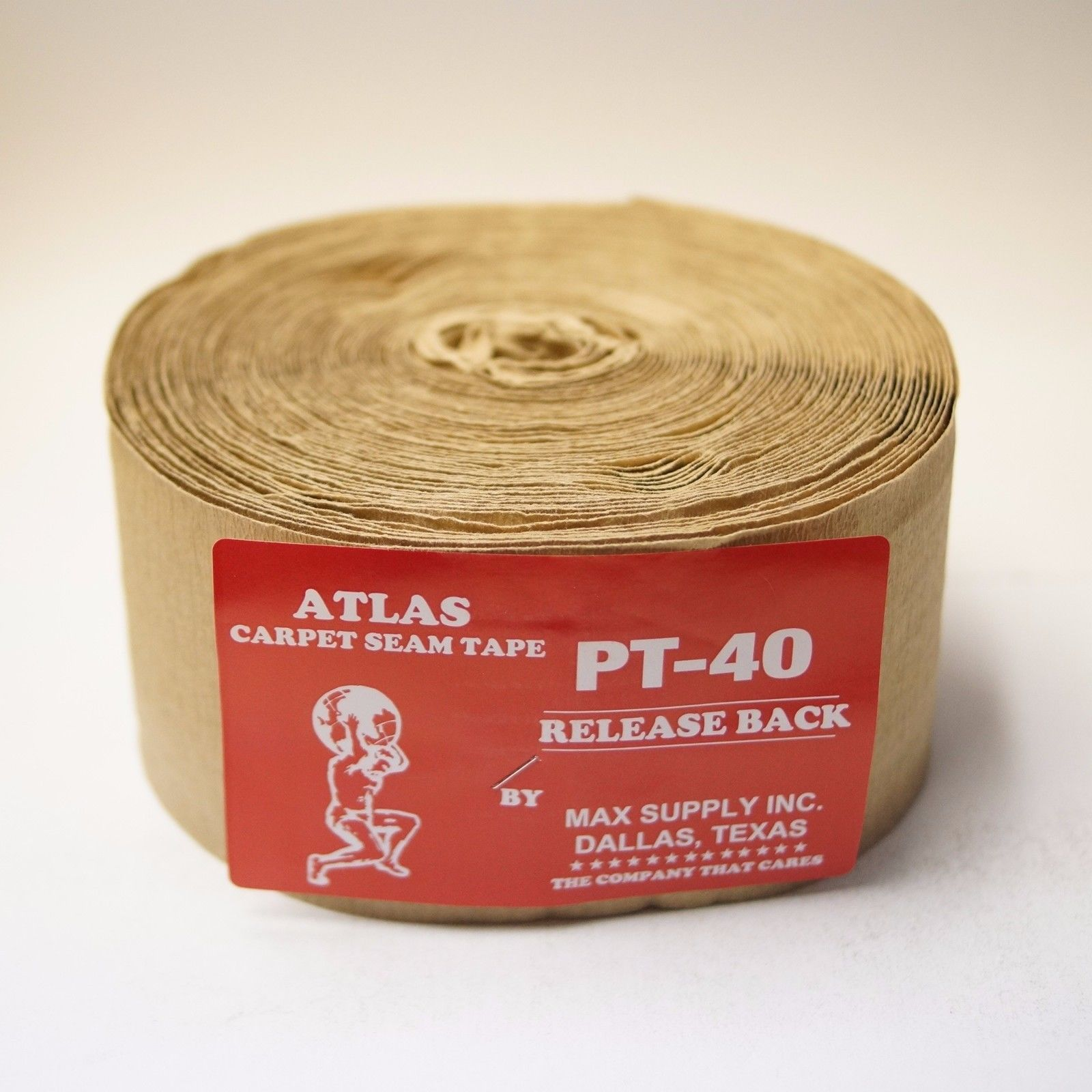 "4"" Release Back 9 Bead Carpet Seam Tape - Single Roll"