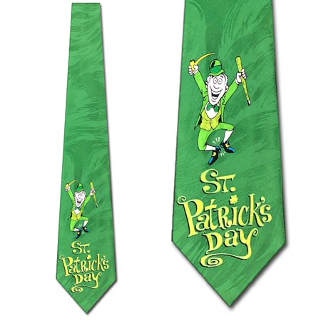 Leprechaun Celebration Necktie Mens Tie by Tieguys - Leprechaun Suit