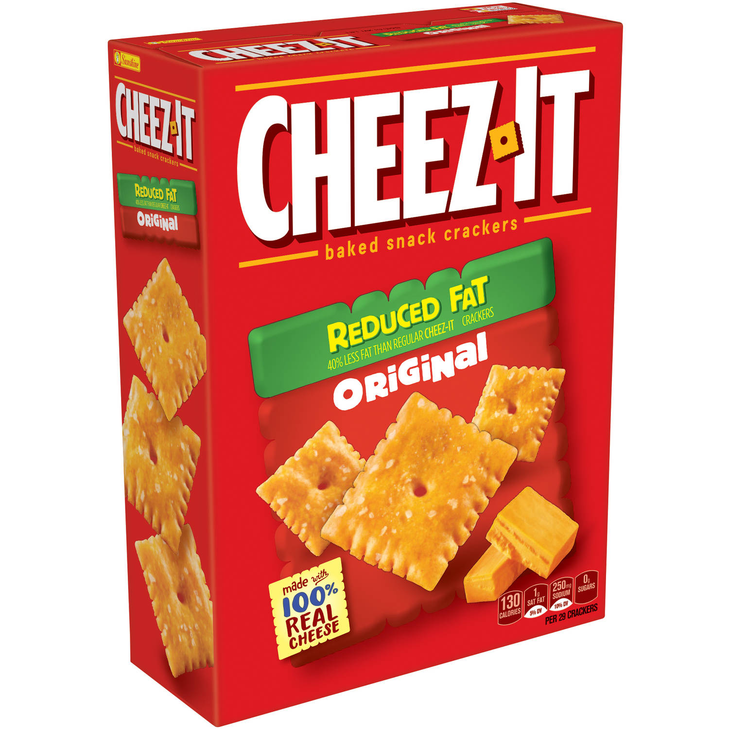 Cheez-It Reduced Fat Original Baked Snack Crackers, 11.5 oz