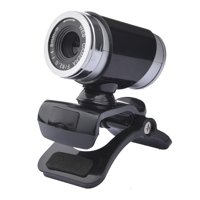 HD Web Camera USB 2.0 0.3M Pixels Webcam with Sound Absorption Microphone for Computer PC Laptop