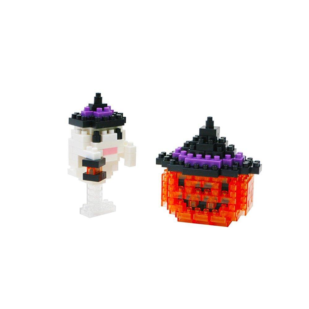 Nanoblock Jack o Lantern Building Set (170 Piece) by