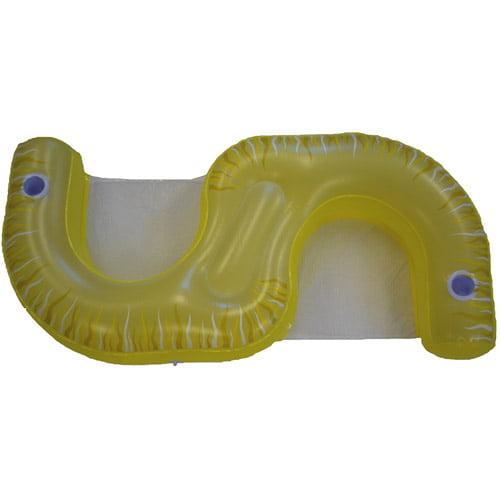Rave Sport Water Floats Fiji Lounge, Yellow