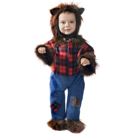 Baby Wolfman Infant Costume Size 0-6 - Toddler Wolfman Costume