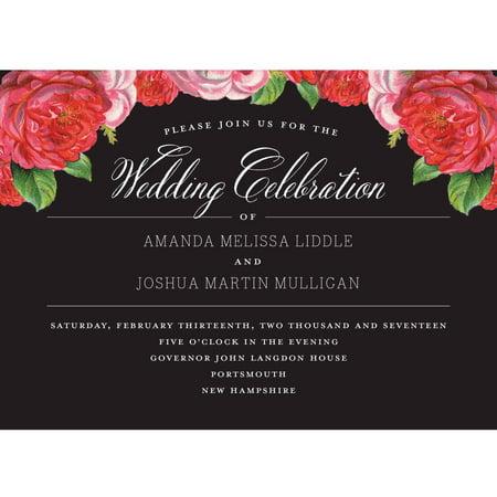 Vintage Blooms Standard Wedding -