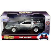 DeLorean DMC Time Machine, Back to the Future I - Jada Toys 32185 - 1/32 scale Diecast Model Toy Car