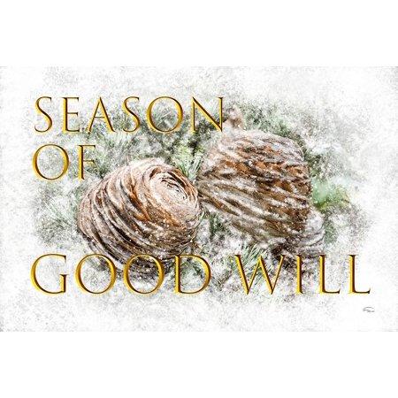 Goodwill Halloween Coupon (Season Of Goodwill Poster Print by Ramona)