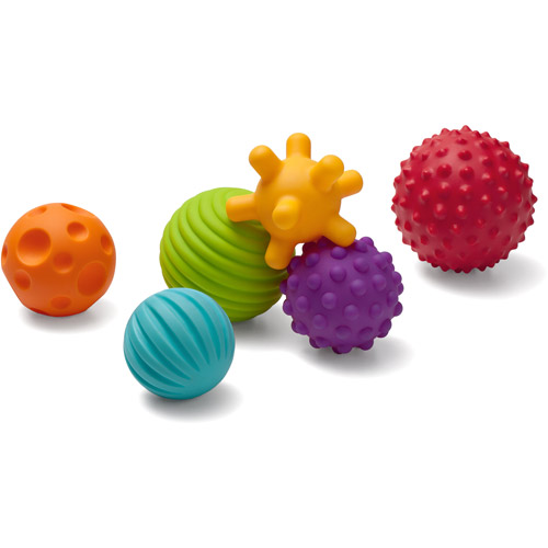 Infantino Textured Multi Ball Set, 6-Piece