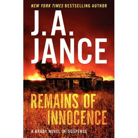Joanna Brady Mysteries (Hardcover): Remains of Innocence (Hardcover)