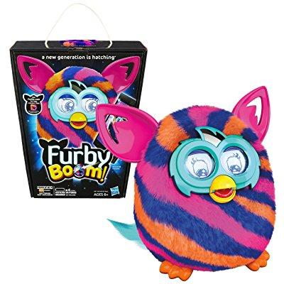 hasbro year 2013 furby boom series 5 inch tall electronic app plush toy figure