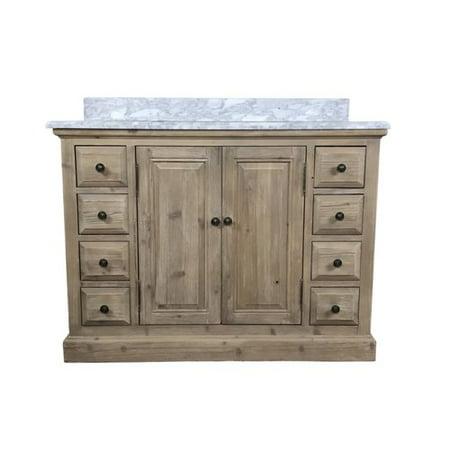 Outstanding Loon Peak Arellano 48 Single Bathroom Vanity Walmart Com Home Interior And Landscaping Ologienasavecom