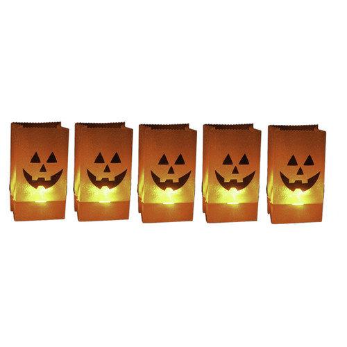 Citi-Talent LTD Halloween Pumpkin Luminary (Set of 5)