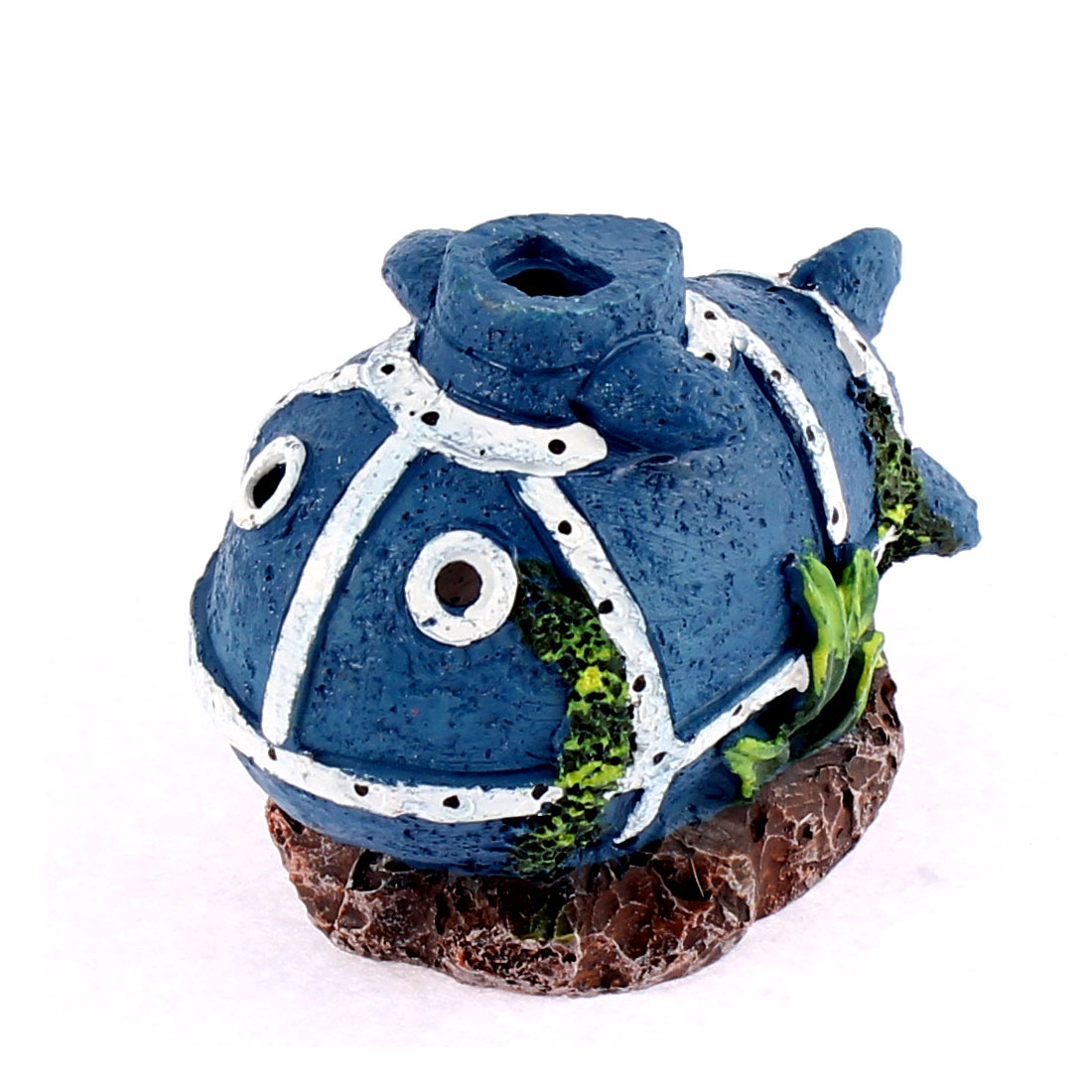 Aquarium Artificial Fish Shaped Bubble Stone Decor