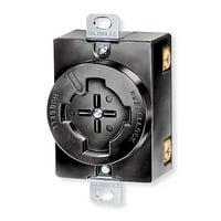 HUBBELLOCK Locking Receptacle,Industrial HBL20403