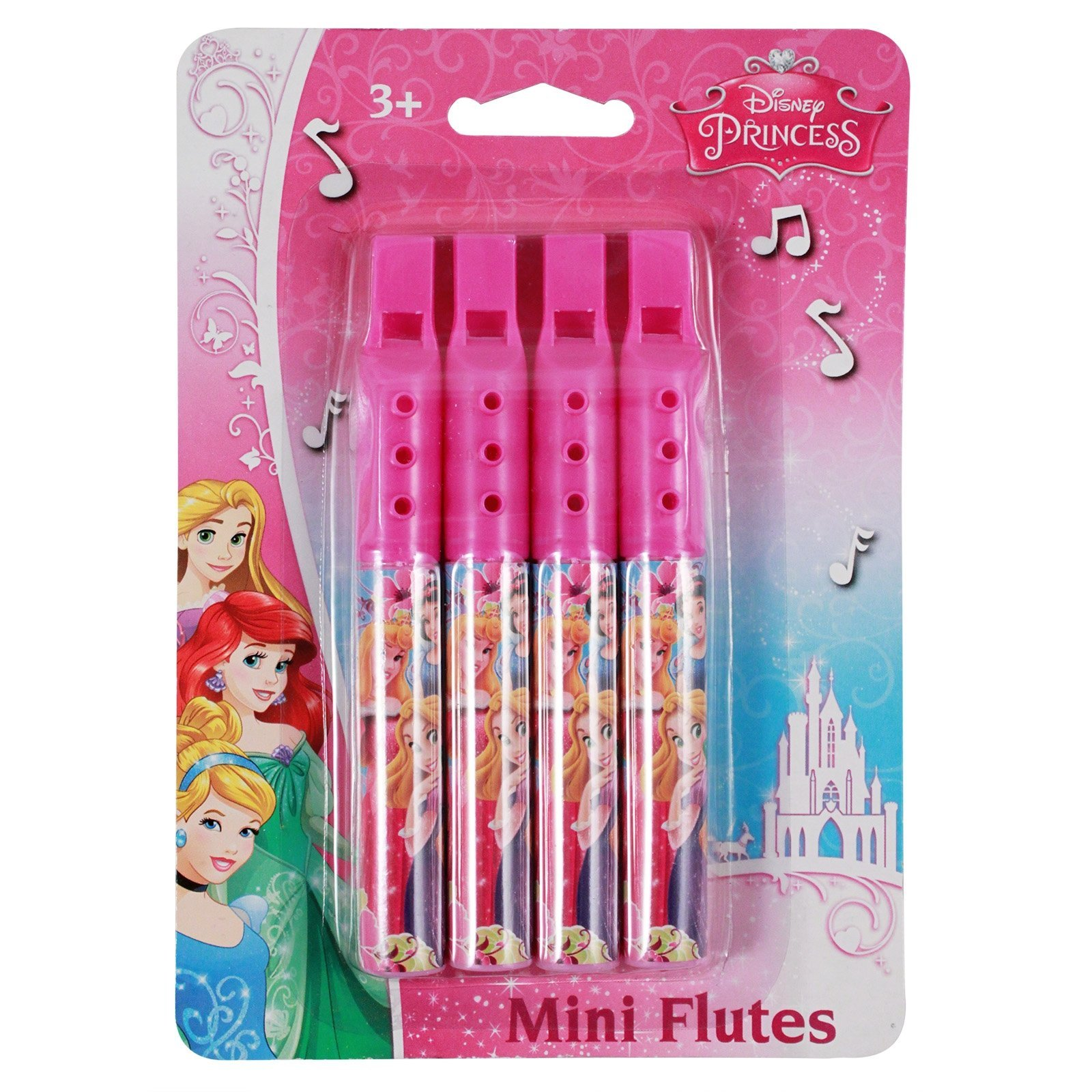 Disney Mini Flutes Kids Music Instrument Toy (8 Flutes)