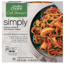 Healthy Choice Cafe Steamers Simply Chicken Pasta Primavera, 10 oz