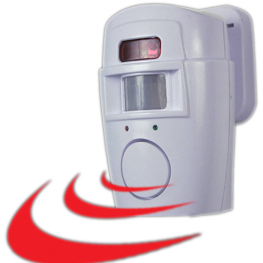 2-in-1 Motion Sensor Alarm and Chime