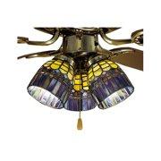 Meyda Tiffany Tiffany 4'' Glass Bowl Ceiling Fan Fitter Shade