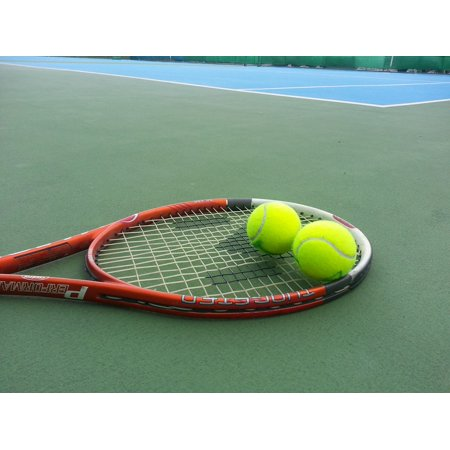 LAMINATED POSTER The Guards Morning Tennis Racket Baby Sports Poster Print 24 x 36