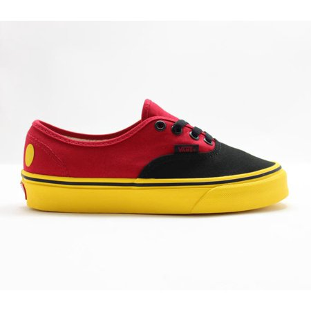 Mens Vans x Disney Authentic Mickey Red Yellow Black VN0A38EMUK9 - Vans Disney Kids