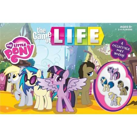 THE GAME of LIFE: My Little Pony - My Little Pony Halloween Games Online