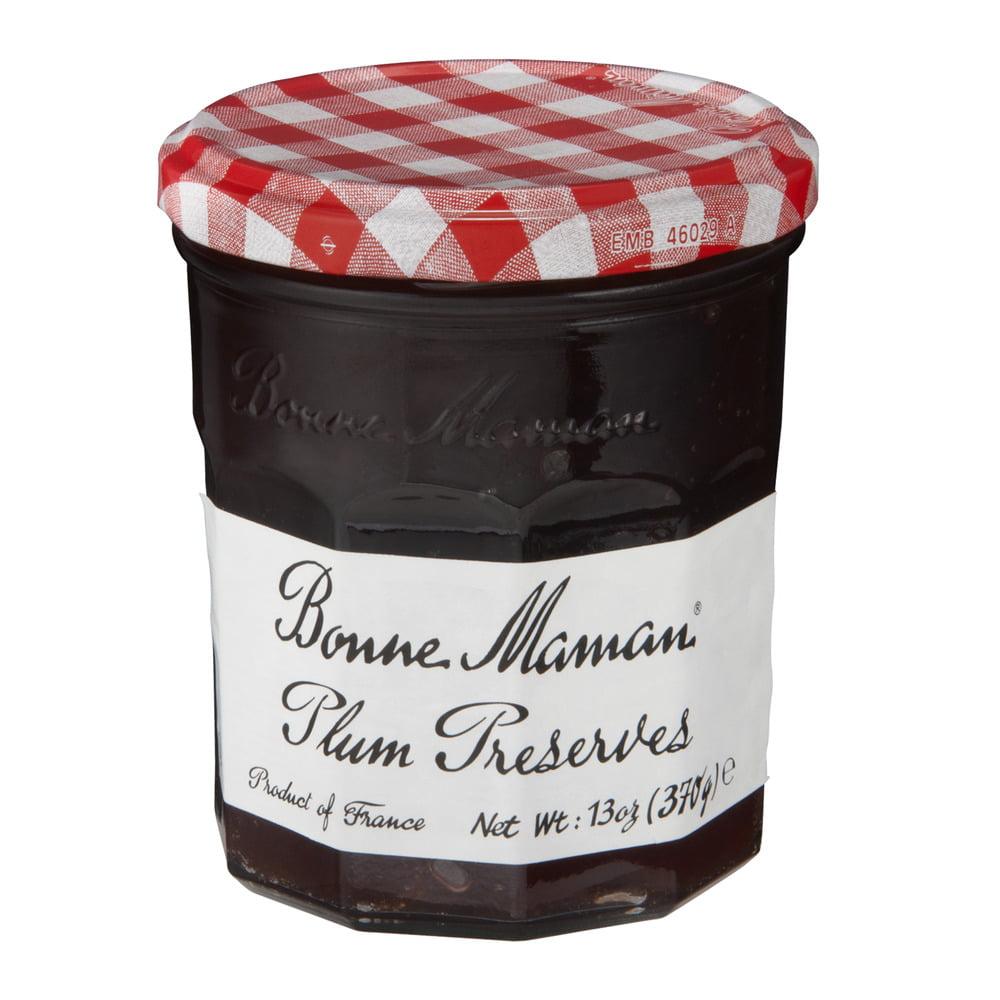 Bonne Maman Plum Preserves, 13 OZ (Pack of 6) by American Marketing Team