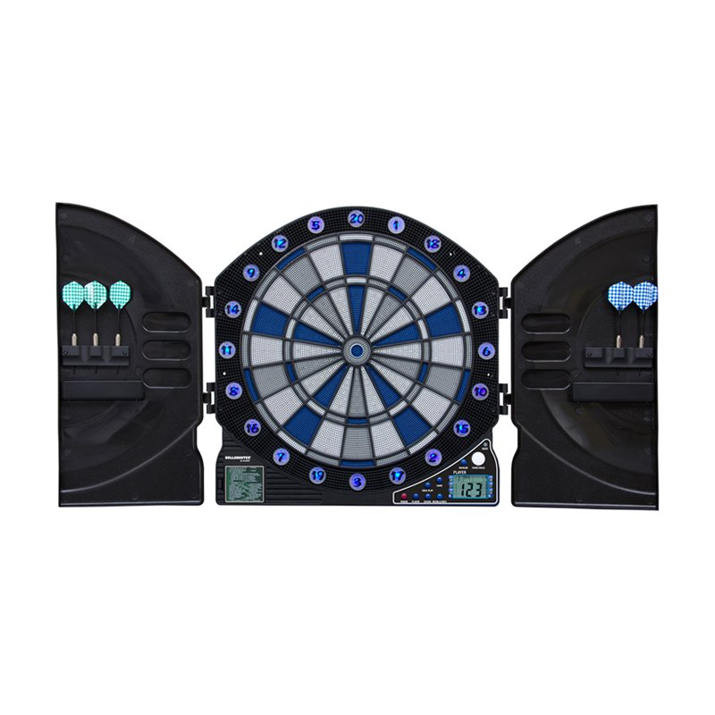 Bullshooter by Arachnid Illuminator 3.0 Electronic Dart Board Complete Set by Escalade Sports