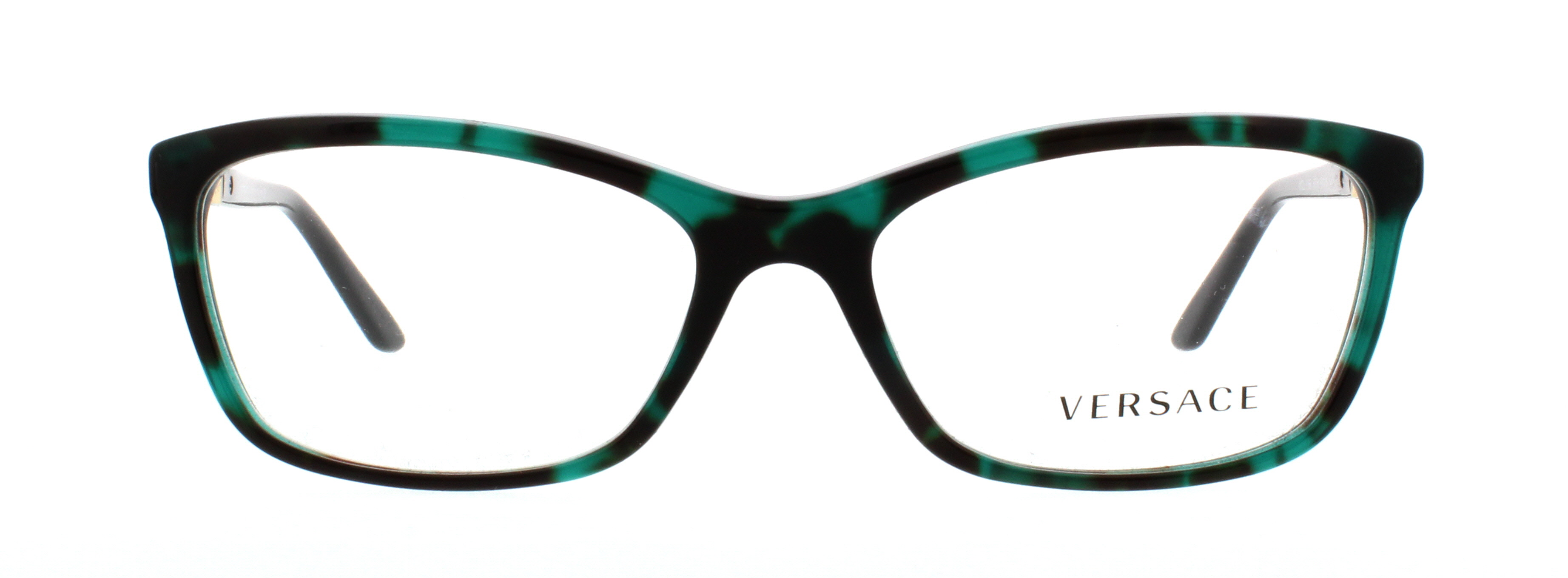 22b113bd2765 VERSACE Eyeglasses VE 3186 5076 Green Havana 54MM - Walmart.com