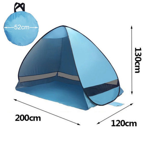 Porch Light Youth Shelter: UV Sun Protective Camping Tent Portable Family Waterproof