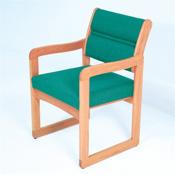 Wooden Mallet DW1-1 Valley Series Guest Chair